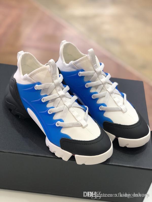 La nueva tendencia de la moda en el año 2019 es el deporte de luz y de ocio par de zapatos elevadores zapatos (bule negro)