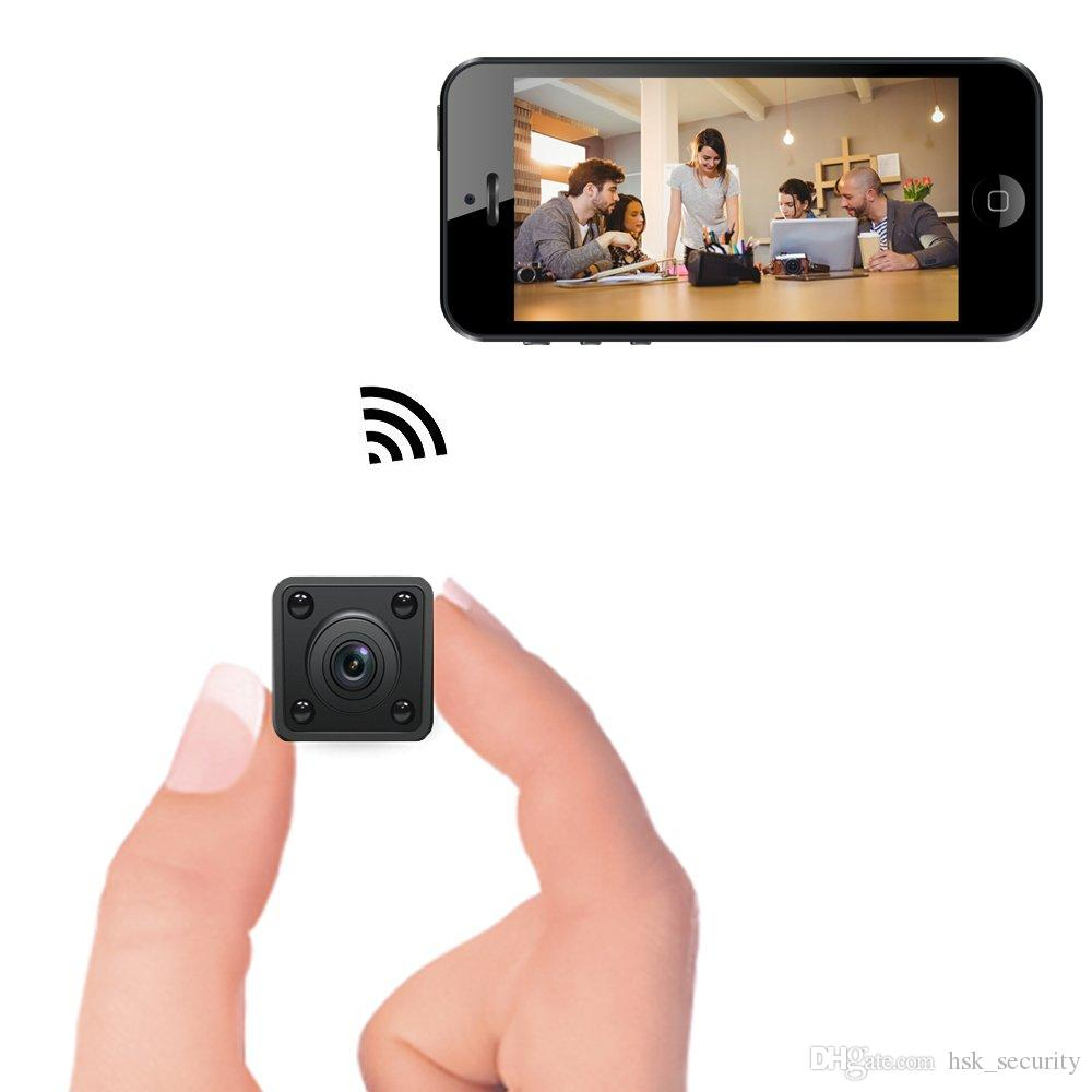 Micro Wireless Camera Sport Mini Security Cameras for Indoor Surveillance 1080P Home Office or Car Video CCTV Recorder Camcorder