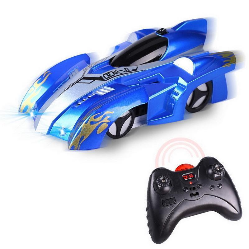 RC Wand Klettern Mini-Auto-Spielzeug für Kinder Modell Bricks Wireless-Elektro-Auto-Kinder-Radio-Fernbedienung Rennen Spiele Spielzeug Y200317