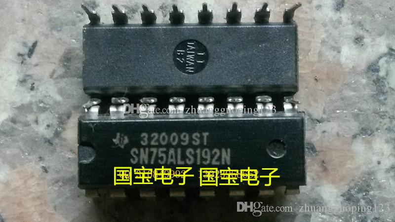 Ücretsiz kargo SN75ALS192N, 16 çift hat iğne DIPelectronic bileşenleri, entegre devre cips, IC ,, Elektronik bileşenler