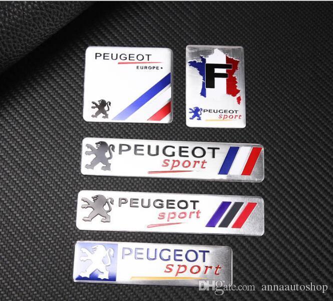 607 Emblema Sport con bandera francesa para Peugeot 5008 307 206