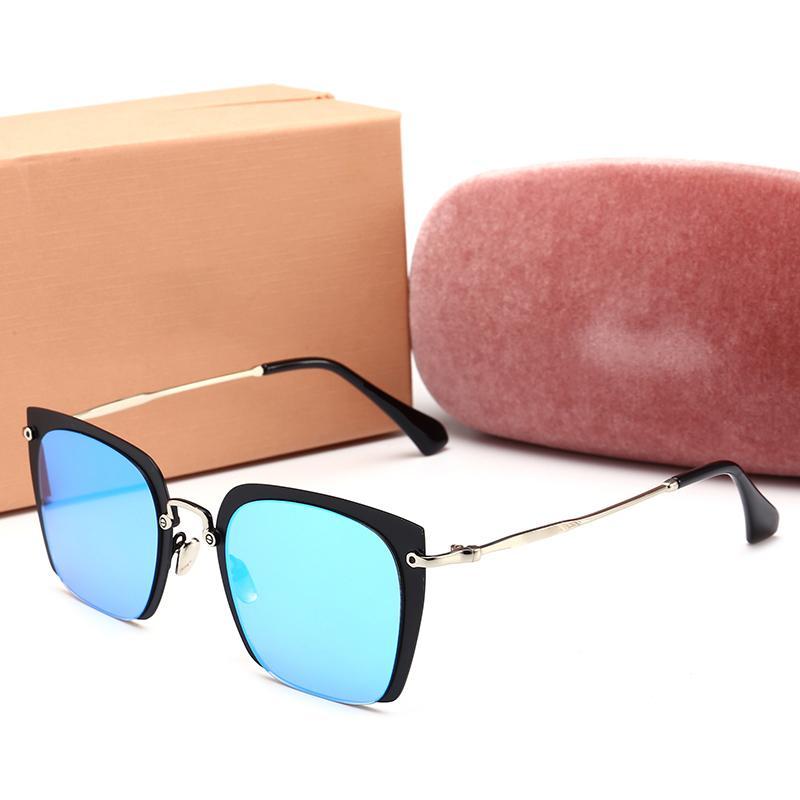 Mens progettista occhiali da sole uomini europei e americani poligonali occhiali da sole glassesmens di guida delle donne F5FT9A di alta qualità