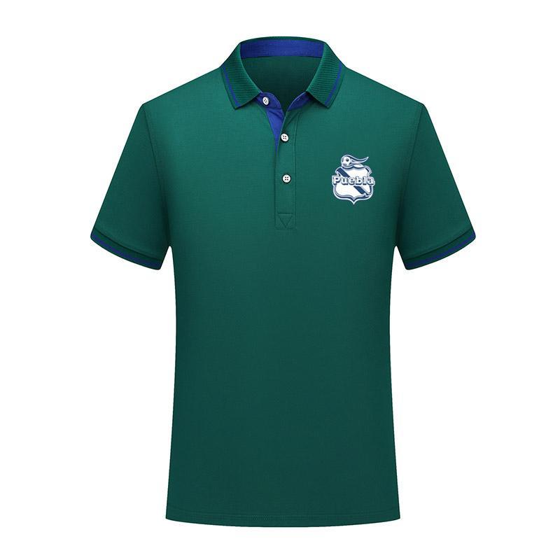 Club Puebla 2020 Business casual POLOS Comfortable football POLO shirt men short sleeve polo soccer men training polo shirt