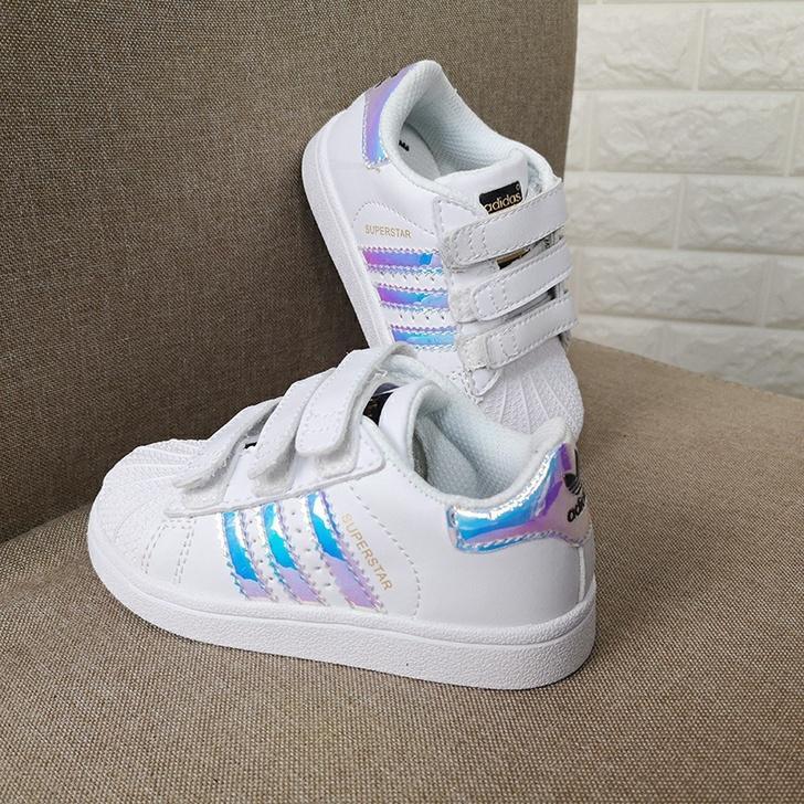 New Shell Head garçon enfants filles Sneakers Superstar Chaussures enfants nouveau sport en cuir de mode smith chaussures stan chaussures de course
