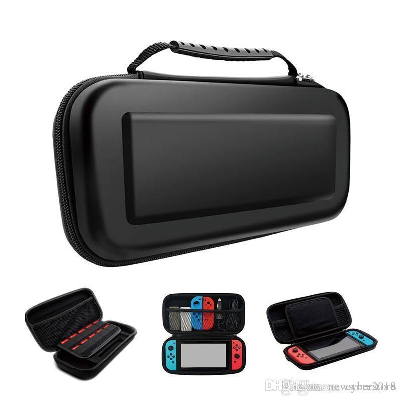Топ-продавец Портативный EVA Чехол Для Хранения Чехол Чехол Для Nintendo Switch Сумка NS NX Консоль Защитный Жесткий Shell Controller
