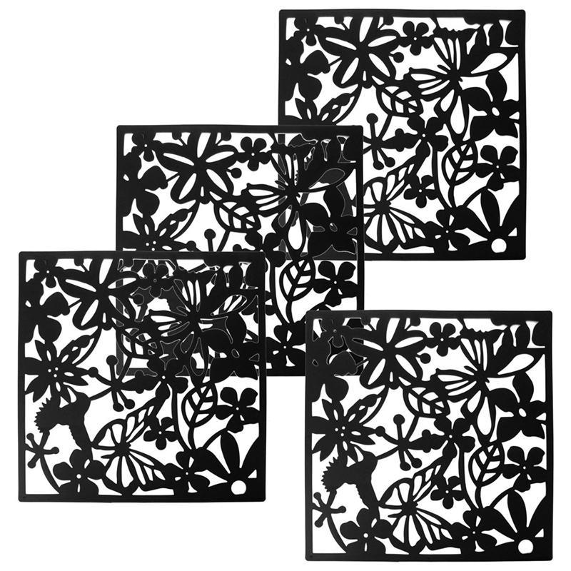 Nouveau mode 4 Pcs Papillon Oiseau fleur Partition de l'écran suspendu Diviseur panneau Salle Rideau Home Décor