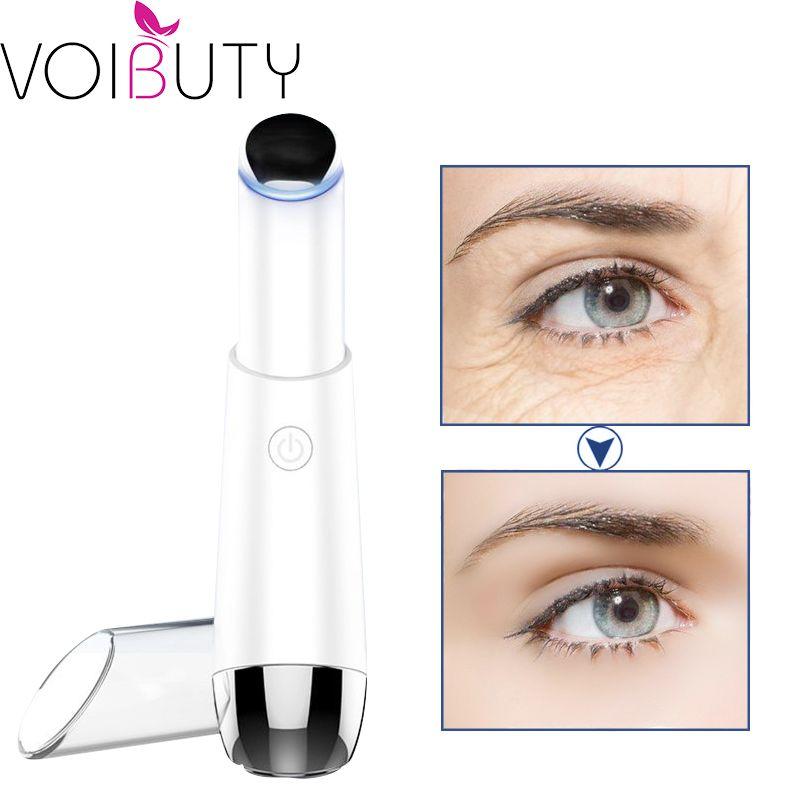 Dispositivo elétrico de massagem Eye negativo Remoção Ion Photon Terapia Rugas Anti-Aging Eye Massager Beauty Machine Tools Cuidados com a pele