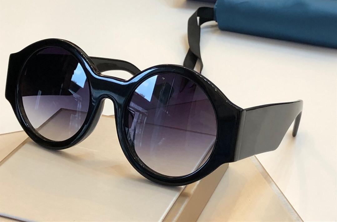 0572 роскошные солнцезащитные очки для женщин дизайнерская мода круглый летний стиль белая розовая рамка высокое качество УФ Защита объектива поставляются с чехлом