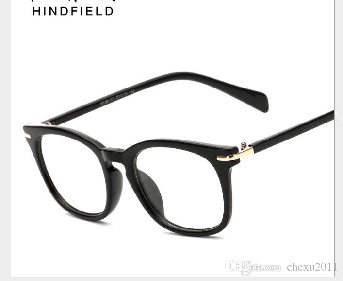 2019 Monturas de gafas de gama alta con monturas grandes para lentes retro retro para estudiantes