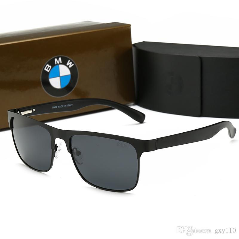 diseño innovador e98c7 600c8 Compre 011 BMW Hombres Mujeres Tendencia De Moda Gafas De Sol Polarizadas  55mm Lentes 4 Gafas De Sol De Color Estilo Caliente Tendencia De Moda Gafas  ...
