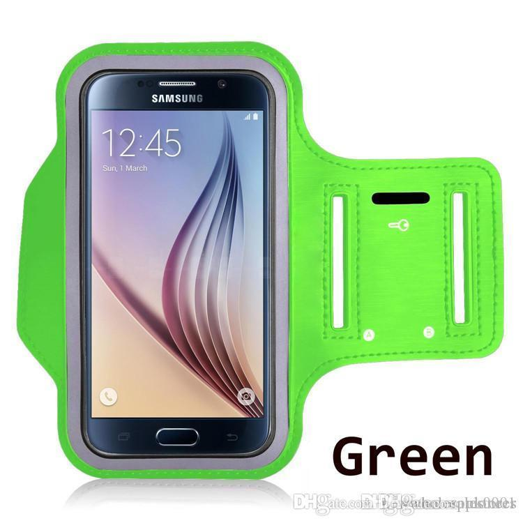 ArmBand Case Water Resistant Sports Armband with Key Holder for samsung s10 s21 12promax Galaxy S7 S7 edge Note 8 Note9 cover