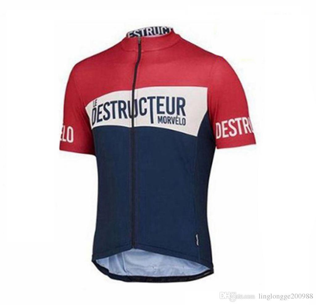 2019 Hızlı Kuru Tops Yaz Yarış Bisiklet Giyim Ropa Ciclismo Kısa Kollu mtb Bisiklet Forması Gömlek windstopper maillot jile