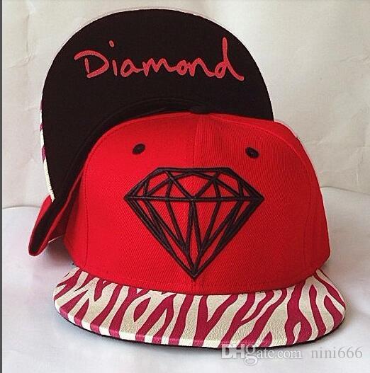 فاخر المصممين كاب الرجال النساء الماس سنببك قبعة الهيب هوب البيسبول SNAPBACKS قبعات الرجال العظام قبعات قابل للتعديل مسطح كاب الرياضة هات النظام مزيج