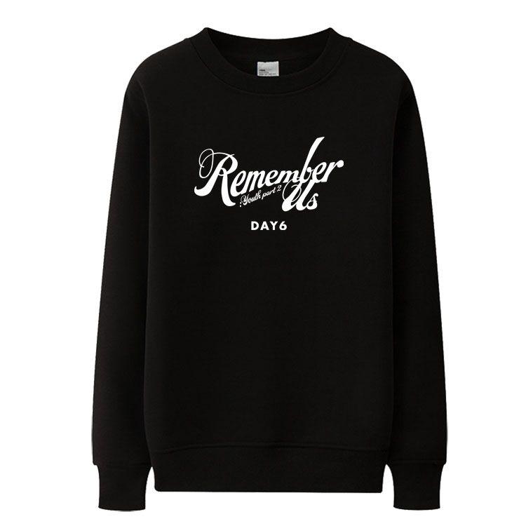 Kpop новый День 6 Помяни нас молодежь part2 же печать шеи толстовки уплотнительное унисекса осень весна пуловеры тонкие фуфайки