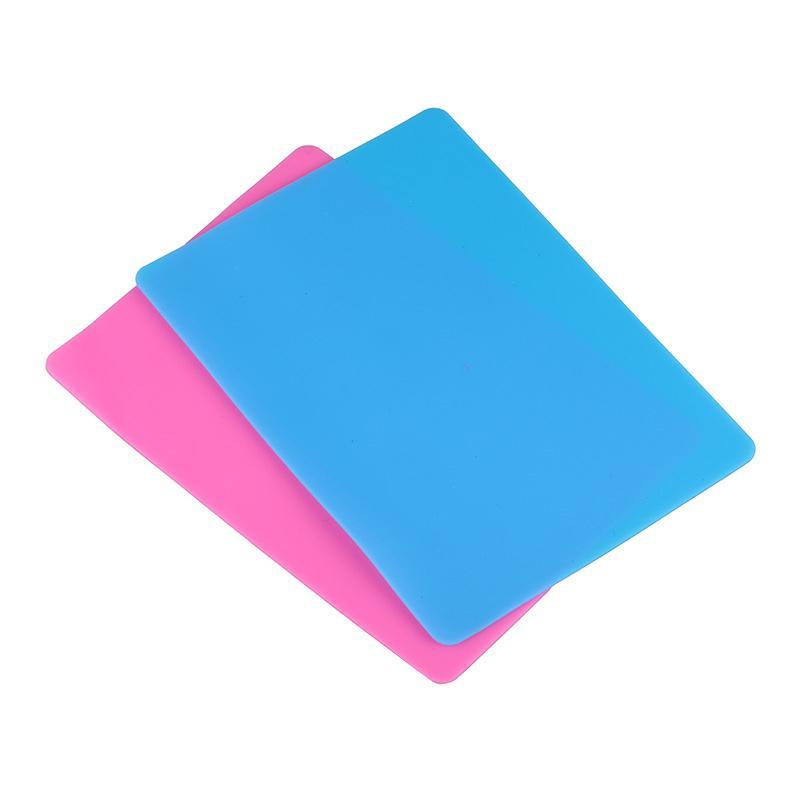 Aracı Yüksek Sıcaklık Direnci Sabit Plaka Çok Amaçlı Craft Kaynağı Yapımı Epoksi UV Reçine DIY Takı için Silikon Tampon Mat