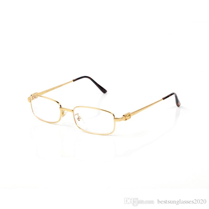 estructura de metal de oro serie de gafas de plata de la pierna gafas Accesorios Accesorios de Moda Tian 8133955 fotograma completo de oro, plata, azul té del aviador