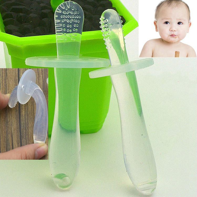 Baby-Silikon-Molar Rod Pure Silicone Zähne Gel Kinderfest Tooth Weiche Molar Rod Beruhigungssauger Beißringe