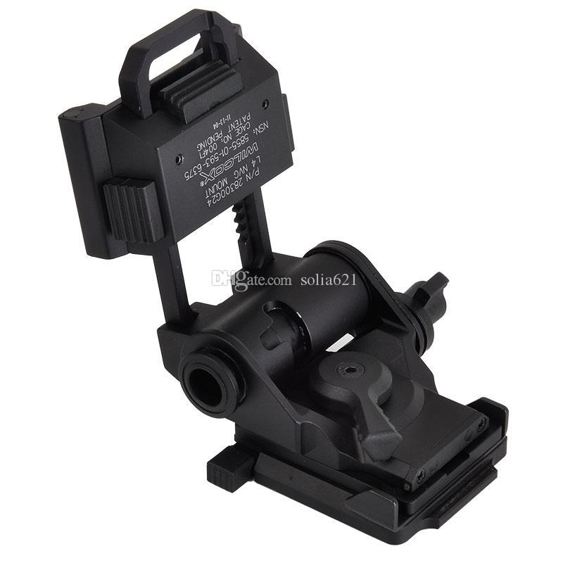 Tactical Tipo L4 G24 rápida Capacete CNC L4G24 NVG Night Vision Helmet Mount