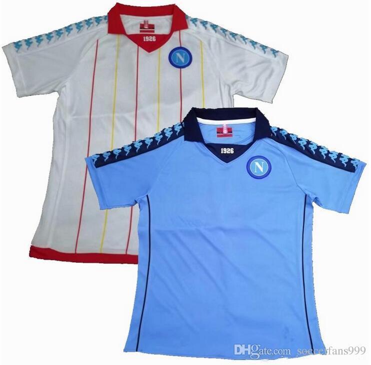 Acquista 2018 2019 Napoli 1982 1983 Maglie Da Calcio RETRO 18 19 Napoli 82 83 ZIELINSKI HAMSIK INSIGNE MERTENS CALLEJON PLAYER ROG Maglie Di Calcio A ...