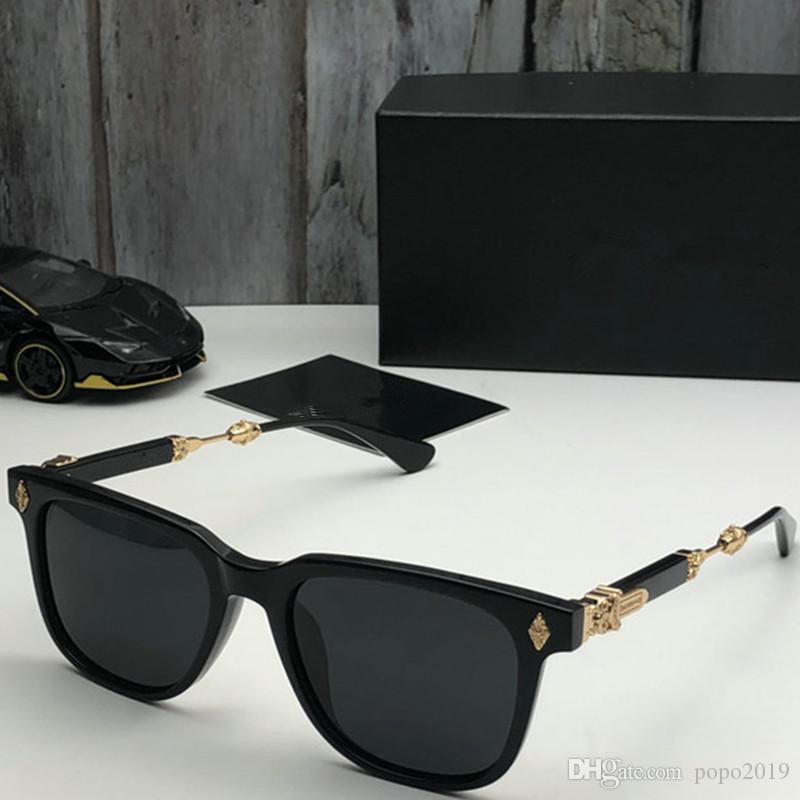 الصيف نمط ايطاليا العلامة التجارية ميدوسا نظارات مربع الشمس النساء الرجال مصمم العلامة التجارية الحماية للأشعة فوق البنفسجية نظارات عدسة واضحة وطلاء عدسة sunwear