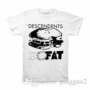 Print Men's Bonus Fat T-shirt Small White
