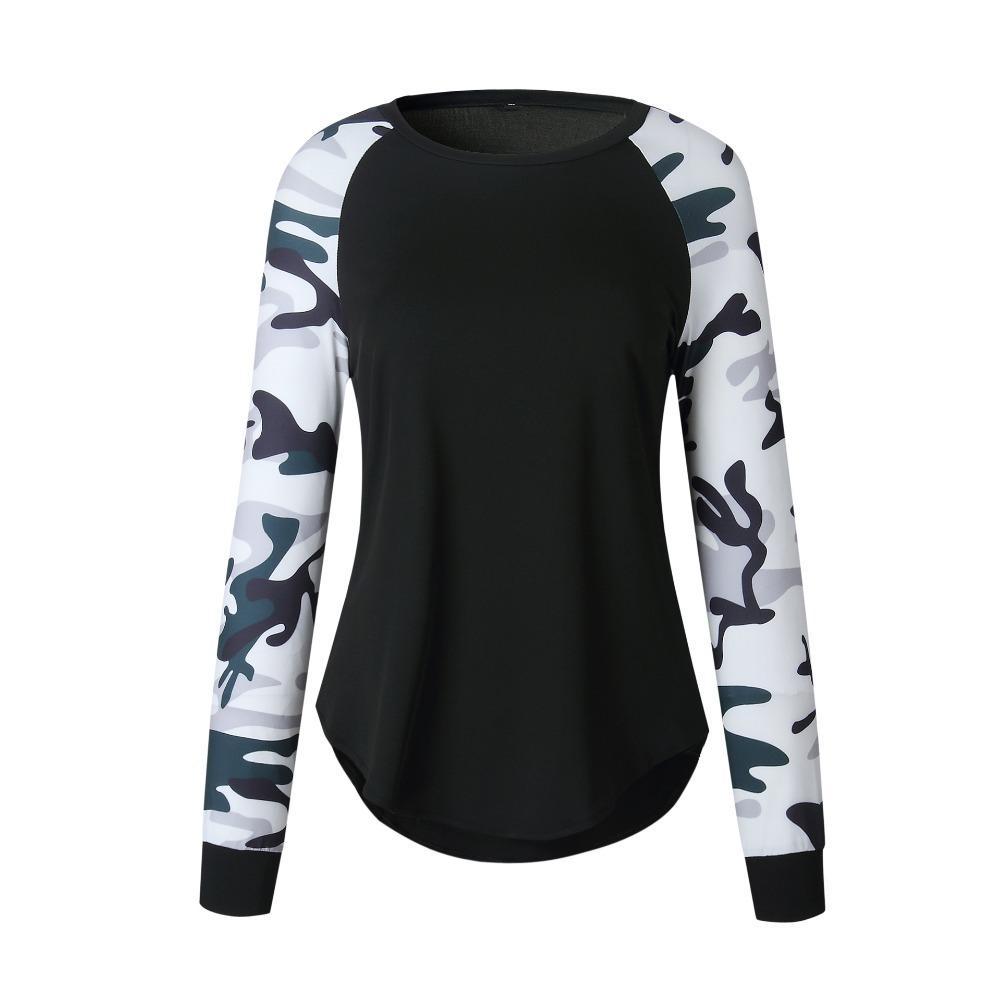 Automne surdimensionné sweat à capuche femme camouflage camo irrégulière chasuble armée sweat-shirt femme d'hiver, plus la taille polerones
