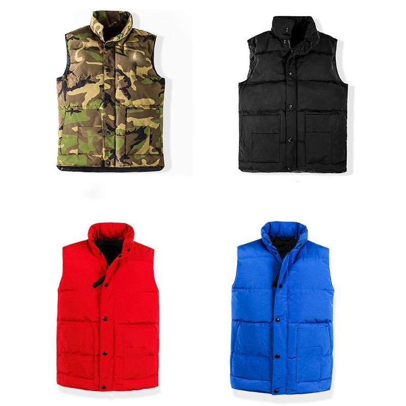 Mens Down Jacket Parka Mens Stylist Giacche Gilet Uomini Donne inverno di alta qualità giù Mens Stylist tuta sportiva del cappotto di formato S-XXL