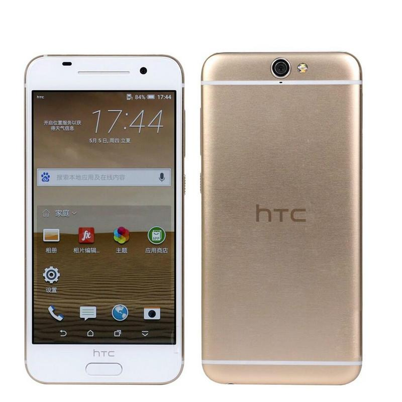 Original desbloqueado HTC One A9 GSM 4G LTE Teléfono Android 32GB ROM Huella digital 5.0 pulgadas TouchSreen WIFI GPS 13MP Cámara HTC A9 teléfono restaurado