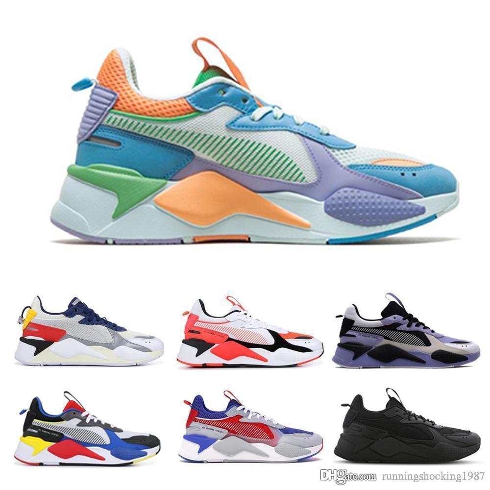 2020 rs rs FUCHSIA PURPLE MAVİ ATOLL spor ayakkabı 36-45 eğitici mens koşu ayakkabıları rs-x yeniden icat oyuncak transformatörleri erkeklerin kadınları x