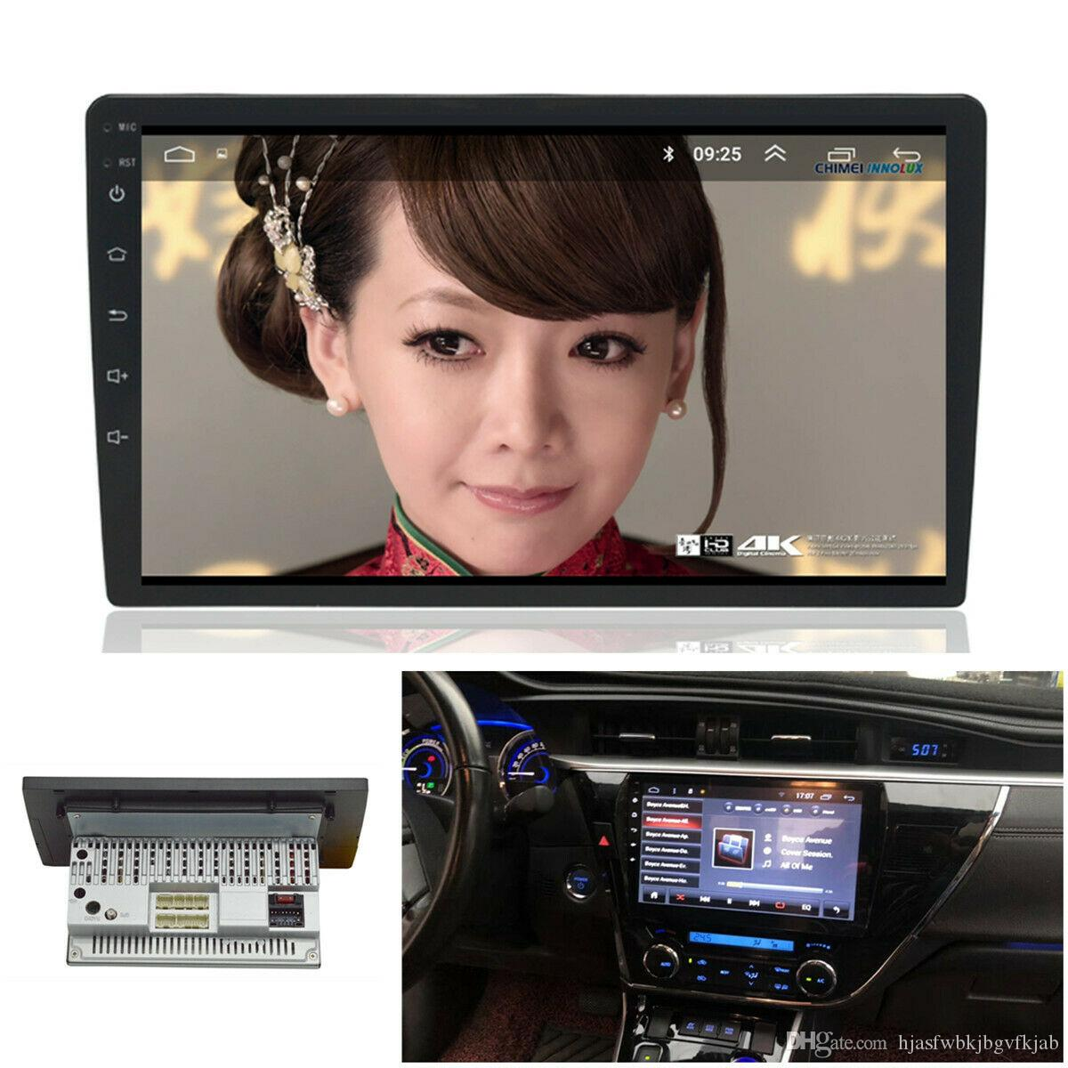 "1Din Android 8.1 9""HD 1080P Car dvd Stereo Radio GPS MP5 DVR Wifi BT OBD Mirror Link"