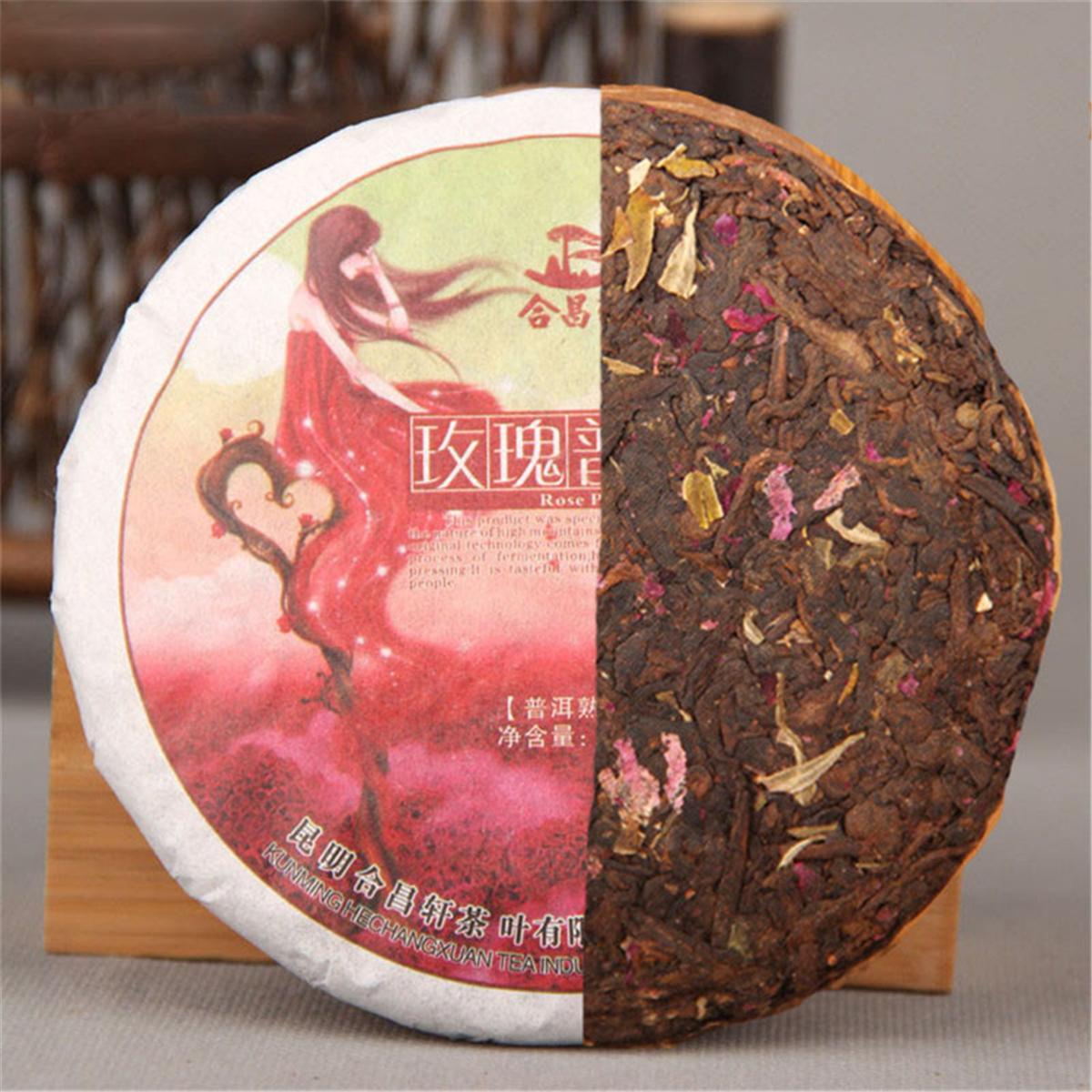 100g china, preparada Sabor Puerh Rose té maduro rojo Puer Puer erh del alimento verde de alimentos saludables Puer Té Negro