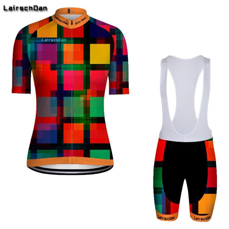 사이클링 저지 세트 SPTGRVO LARASCHDAN 여성 팀 자전거 BIB 바지 세트 스포츠웨어 정장 루마 드 CICLISMO MTB 의류 키트