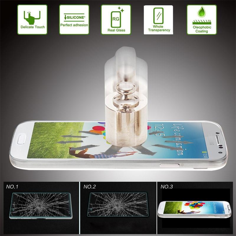 لغالاكسي S IV / i9500 0.26mm 9H 2.5D الزجاج المقسى السينمائي