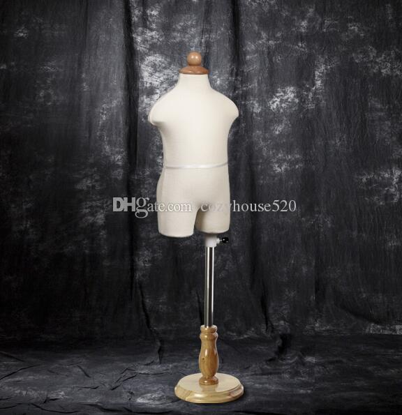 3-4years adjustable children mannequin Jewelry Stand Clothing costumes model doll soft body,Manikin Kid Dress Form woom Round base M00043A