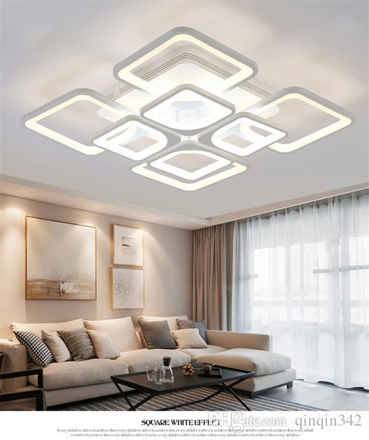 Nouveau led lustre pour salon chambre kitchern lustre à la maison moderne led plafonnier lampe éclairage lustre