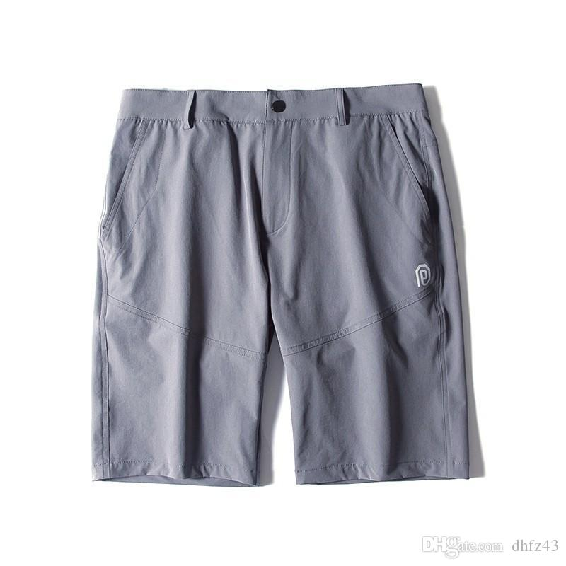 Pioneer Campo bicchierini di estate degli uomini di marca di abbigliamento solido morbido breve maschio di qualità superiore tratto casuale breve bermuda
