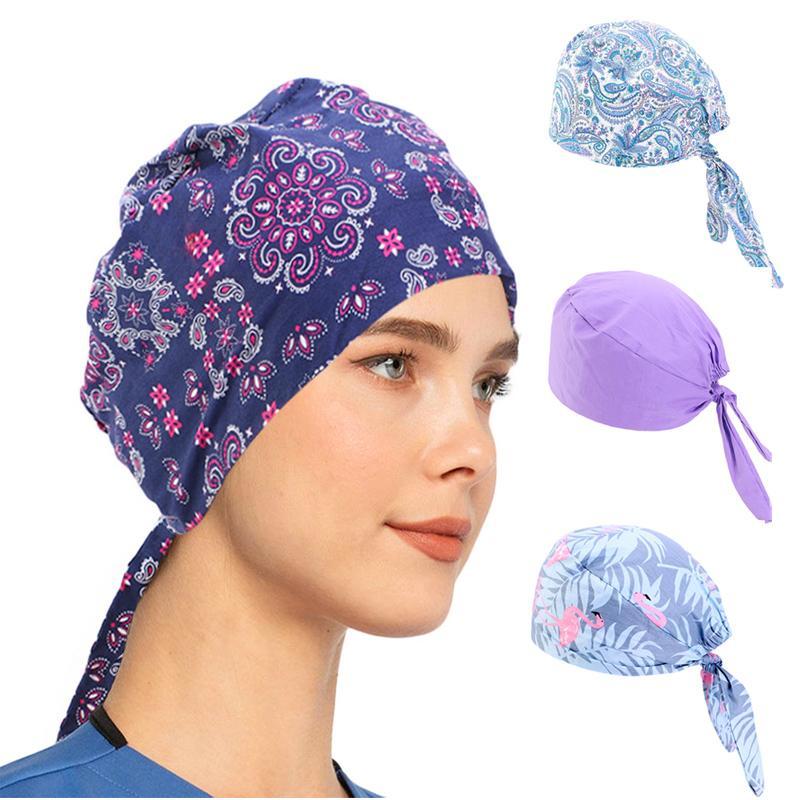 New Women summer Paisley durag Skull Cap Cotton Biker Motorcycle Bandana Head Wrap Headwear Du Doo Do Rag Rags hair accessories