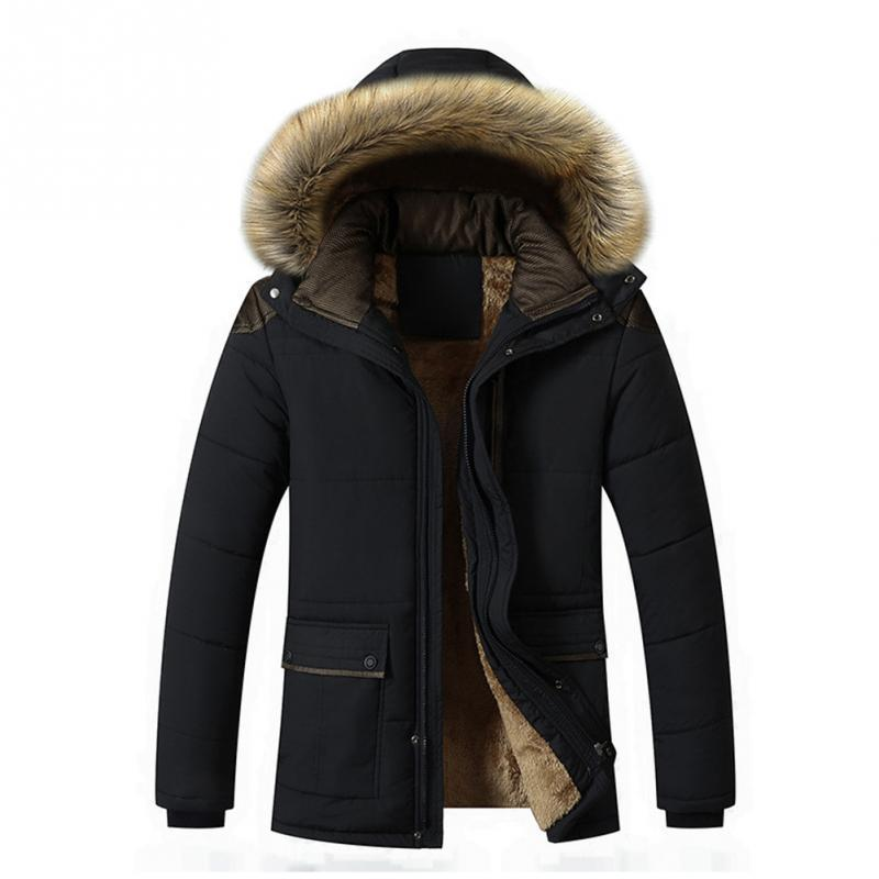 New Chic Projeto Homens Winter Jacket Juventude Tamanho Grande do sexo masculino de algodão acolchoado senhores jaqueta casual casaco espessamento Curto Algodão