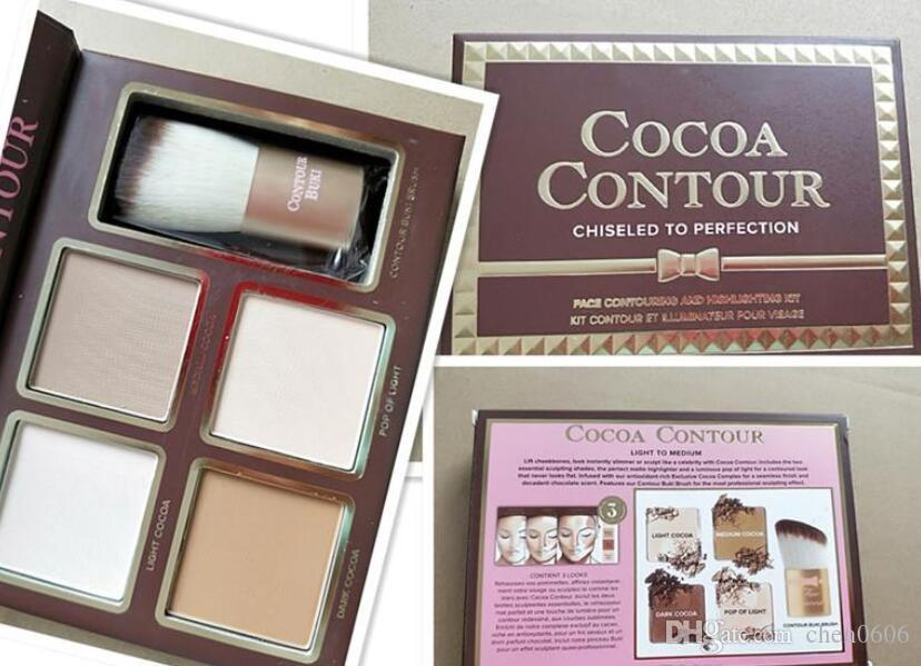 2020 New Makeup COCOA Contour Kit Bronzers Highlighters