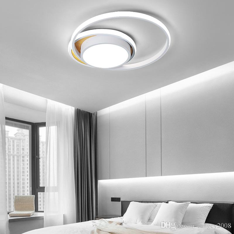 Simple modern LED chandelier for small living room bedroom kitchen balcony dimmable ceiling chandelier home decoration lighting