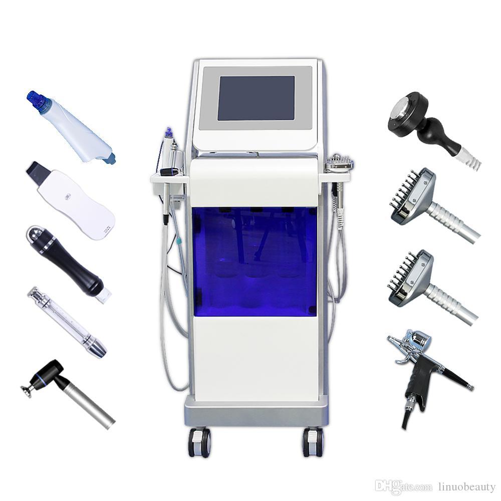 Hydra dermabrasion facial machine hydrafacial deep cleansing BIO face lifting led lights hydrofacial beauty salon equipments