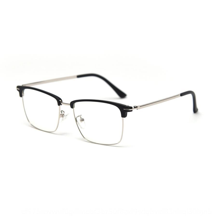 TR1868 métalliques carrés TR1868 hommes Myopie métal lunettes monture carrée cadre de lunettes myopie hommes