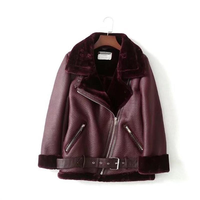Fashion-дизайнер куртки зимние пальто Роскошные женщины Jackt Наклонный Zipper Faxu Fur Coat Liner