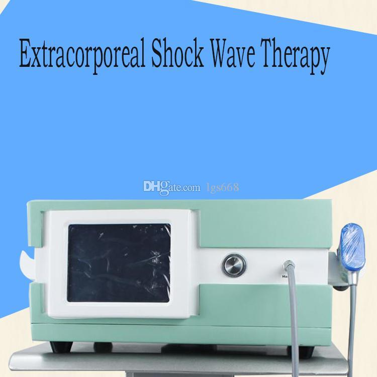 Top portátil Shockwave Therapy Machine / Muscle extracorpórea Shock Wave Therapy Equipment para artrite alívio da dor física
