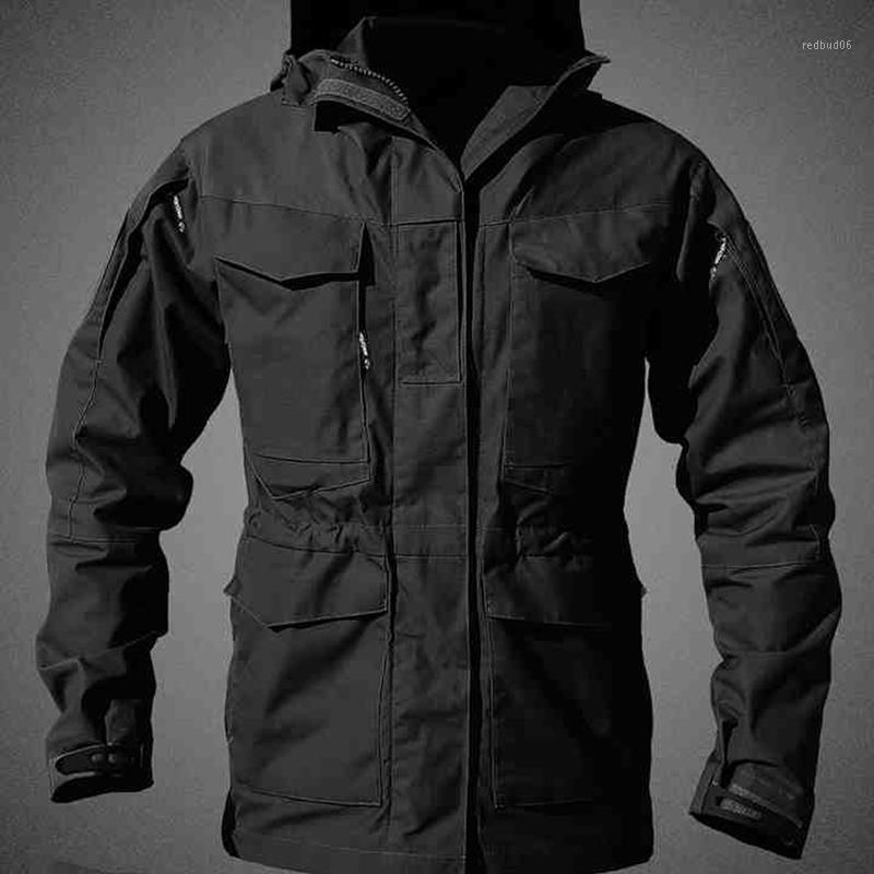 Outdoors M65 Uk Men S Winter Army Tactical Clothes Shortbreaker Thermal Flight Pilot Coat Hoodie Field Jacket1