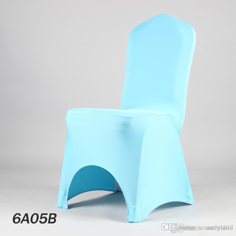 A555 100PCS Caso presidente della decorazione del partito di Natale della sedia della copertura in poliestere da sposa 2016 NUOVO Fancy dalla fabbrica 20.170.629 #