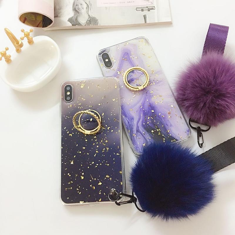 Caja del teléfono móvil de lujo para 11Pro Max / 11Pro / 11 / X / XS / XR / X / 8P / 7P / 8/7 / 6SP / 6P / 6S / 6 Nueva tendencia de la moda del diseñador pendiente de la rampa caso de IPhone Max