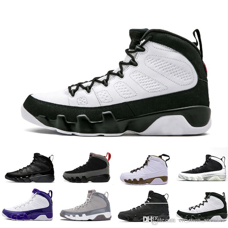 [With Box]2018 Cheap 9 IX Basketball Shoes For Men, Fashion High Quality Sneakers Trainer Athletics Boots s J9 Outdoor Shoes size8-13