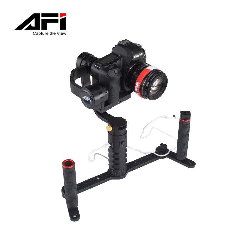 Freeshipping AFI VS-3SD Canon Nikon DSLR 카메라 용 3 축 핸드 헬드 안정기 Gimbal 지원 무게 1.7 KG PK Beholder DS1 EC1
