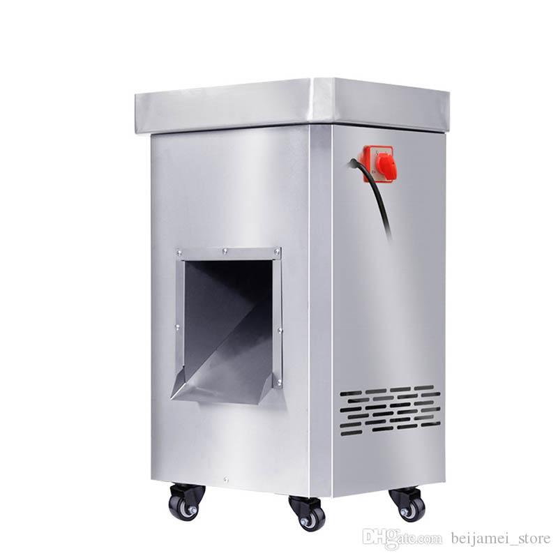 Beijamei à haut rendement électrique viande Machine à découper la viande 2200W commerciale Découpe de viande en acier inoxydable Slicer Cutter Prix